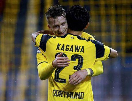 Tran dau 12 ban cua Dortmund lap ky luc tai Champions League - Anh 1