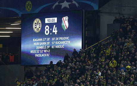 Dortmund ha Legia Warsaw trong tran cau ky luc voi 12 ban thang - Anh 2