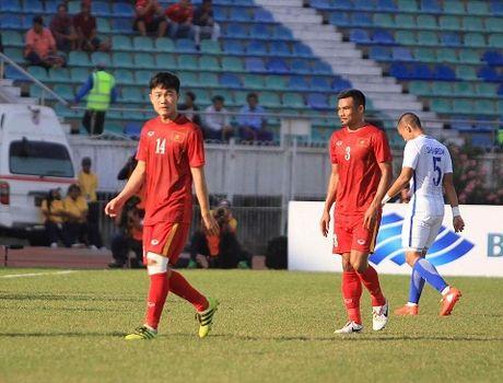 Viet Nam 1-0 Malaysia: Trong Hoang lap cong, dat 1 chan vao Ban ket - Anh 1