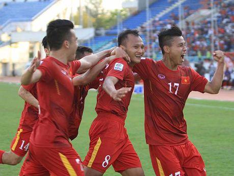Viet Nam 1-0 Malaysia: Trong Hoang lap cong, dat 1 chan vao Ban ket - Anh 2