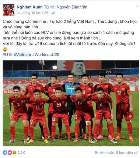 Cong dong mang tung bung sau chien thang cua Viet Nam truoc Malaysia - Anh 10