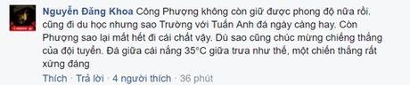 Cong dong mang tung bung sau chien thang cua Viet Nam truoc Malaysia - Anh 4