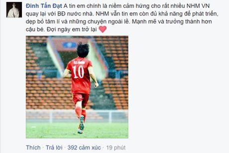 Cong dong mang tung bung sau chien thang cua Viet Nam truoc Malaysia - Anh 5