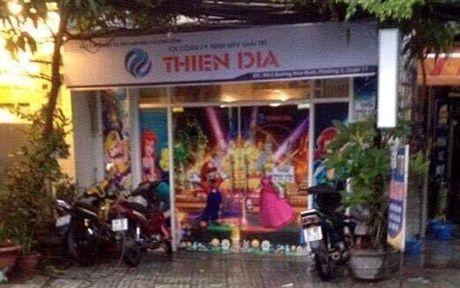 TPHCM: Bat doi tuong no sung ban nguoi trong tiem games - Anh 1