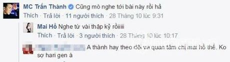 Giong Phan Thanh-Salim, Tran Thanh tranh mat khi gap Mai Ho - Anh 3