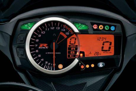Suzuki GSX-R1000 so gang voi Yamaha YZF-R1 - Anh 6