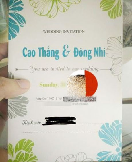 Dong Nhi, Ong Cao Thang sap lam le cuoi? - Anh 1
