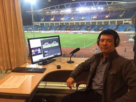 BLV Quang Huy binh luan ve tran Viet Nam vs Malaysia - Anh 1