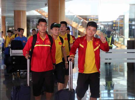 Tuyen Viet Nam vui nhu tet truoc cuoc cham tran voi DT Campuchia - Anh 1