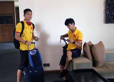 Tuyen Viet Nam vui nhu tet truoc cuoc cham tran voi DT Campuchia - Anh 6