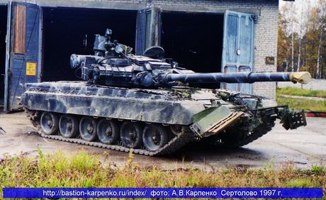 3.000 xe tang 'phan luc' T-80BV tro lai, NATO hoang loan - Anh 2
