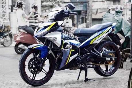 Yamaha Exciter 150 tem dau, che mu 'cuc doc' tai Sai Gon - Anh 1