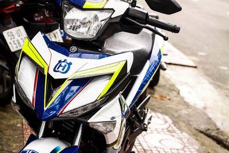 Yamaha Exciter 150 tem dau, che mu 'cuc doc' tai Sai Gon - Anh 2