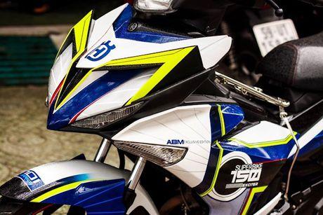 Yamaha Exciter 150 tem dau, che mu 'cuc doc' tai Sai Gon - Anh 3