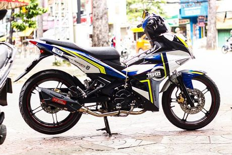 Yamaha Exciter 150 tem dau, che mu 'cuc doc' tai Sai Gon - Anh 4