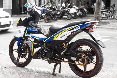 Yamaha Exciter 150 tem dau, che mu 'cuc doc' tai Sai Gon - Anh 5