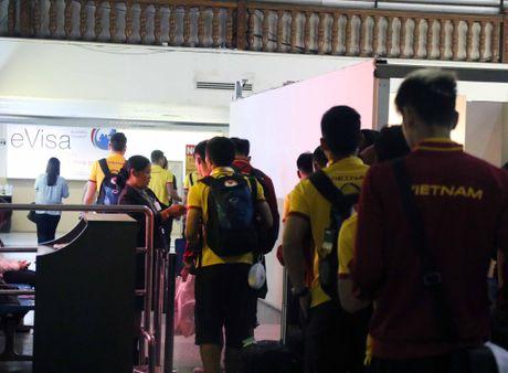 DT Viet Nam toi Nay Pyi Taw truoc tran gap Campuchia - Anh 1