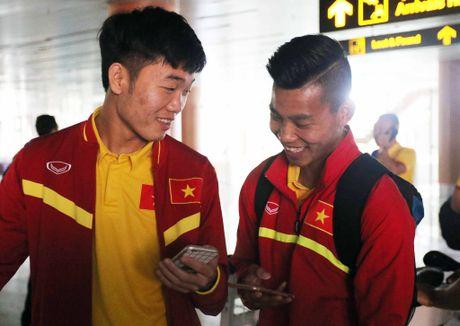 DT Viet Nam toi Nay Pyi Taw truoc tran gap Campuchia - Anh 2