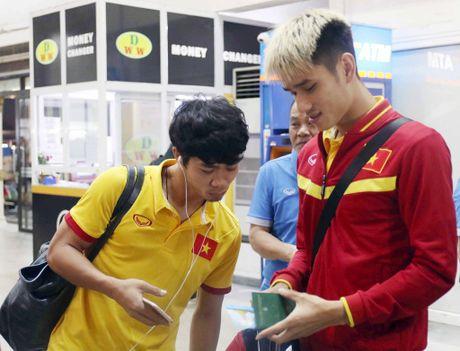DT Viet Nam toi Nay Pyi Taw truoc tran gap Campuchia - Anh 3