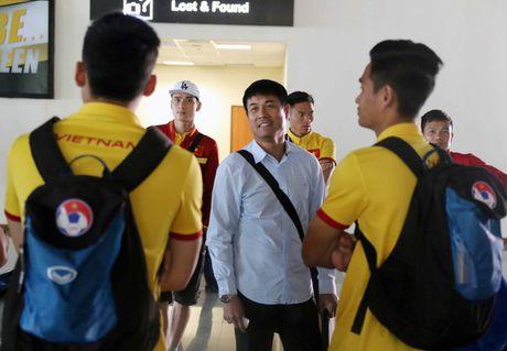 DT Viet Nam toi Nay Pyi Taw truoc tran gap Campuchia - Anh 4