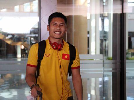 DT Viet Nam toi Nay Pyi Taw truoc tran gap Campuchia - Anh 5