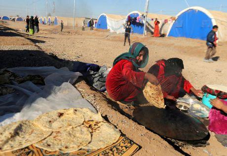 Thieu thon du dieu dan Iraq trong trai ti nan gan Mosul - Anh 13