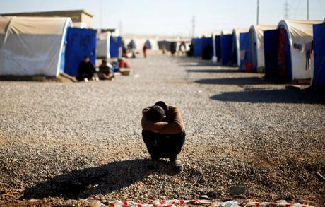 Thieu thon du dieu dan Iraq trong trai ti nan gan Mosul - Anh 1