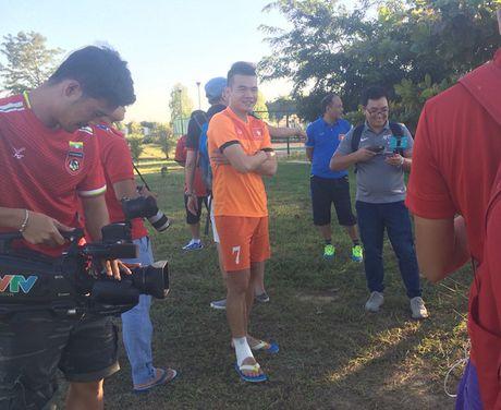 Buoi tap dau tien cua tuyen Viet Nam tai Nay Pyi Taw: Hoang Thinh va Thanh Luong duoc nghi - Anh 1