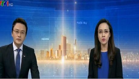 BTV Hoai Anh, Huu Bang gap su co hi huu khi dan ban tin Thoi su - Anh 1