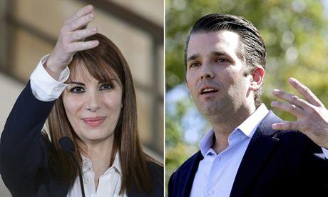 Con trai Trump gap nu chinh tri gia Syria than Nga o Phap - Anh 1