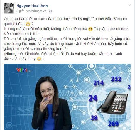 BTV Hoai Anh len tieng ve tinh huong bat cuoi tren song - Anh 2