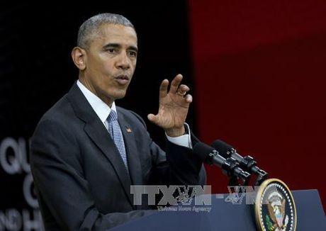 Tong thong Obama canh bao nguoi ke nhiem ve van de Trieu Tien - Anh 1