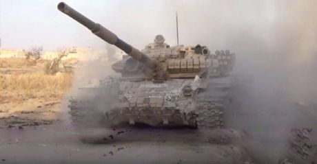 Quan doi Syria tien quan vao sau trong chien truong dong Ghouta - Anh 1