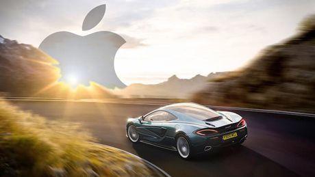 Apple dam phan dau tu vao nha san xuat sieu o to McLaren - Anh 1