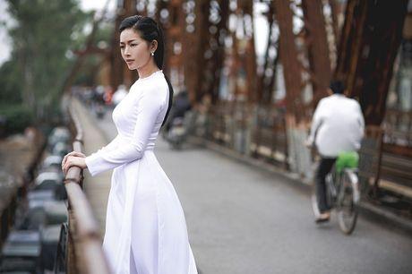 Mai Thanh Ha dep den nao long voi ao dai giua troi Thu Ha Noi - Anh 11
