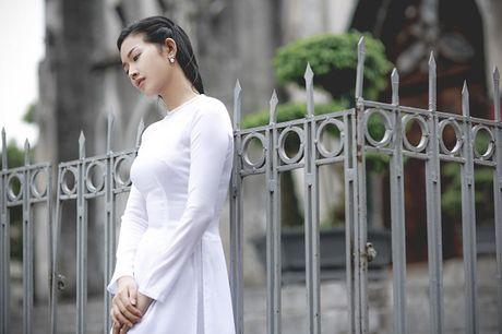 Mai Thanh Ha dep den nao long voi ao dai giua troi Thu Ha Noi - Anh 12