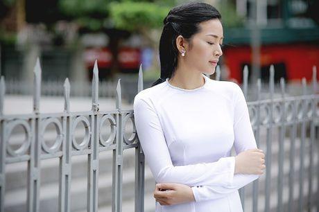 Mai Thanh Ha dep den nao long voi ao dai giua troi Thu Ha Noi - Anh 13