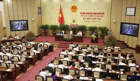 Ha Noi xem xet thong qua Nghi quyet ve Du an, cong trinh trong diem giai doan 2016-2020 - Anh 1