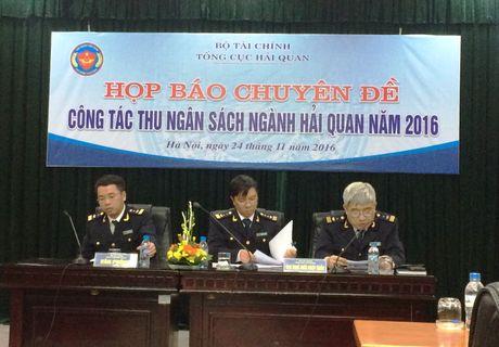 Nganh Hai quan: Thu ngan sach 11 thang dau nam uoc dat 88,7% - Anh 1