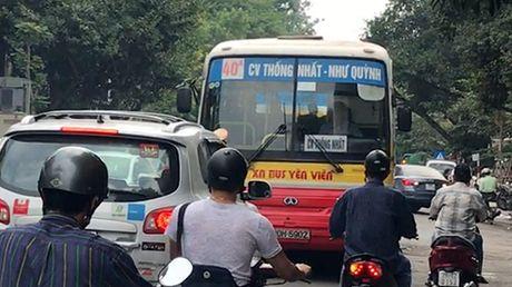 Dinh chi cong viec tai xe xe buyt lan lan tren duong Hai Ba Trung - Anh 1