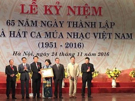 Ky niem 65 nam thanh lap Nha hat Ca Mua Nhac Viet Nam - Anh 1