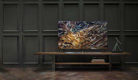 Samsung mang thiet ke dinh cao vao cac dong TV cao cap - Anh 1
