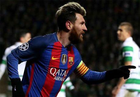 Messi lap cu dup, Barca gianh ve di tiep tai Champions League - Anh 1