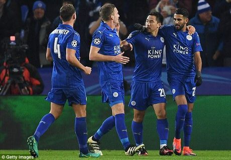 Lap ky tich Champions League, Leicester nhan thuong lon - Anh 1