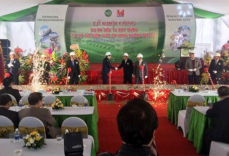 Khoi cong du an che bien thuc an Hang khong Noi Bai - Anh 1