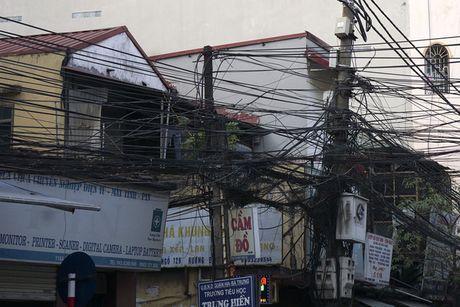 Ha Noi: Mang luoi 'rac troi' van giang chang chit khap pho - Anh 13