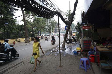 Ha Noi: Mang luoi 'rac troi' van giang chang chit khap pho - Anh 5