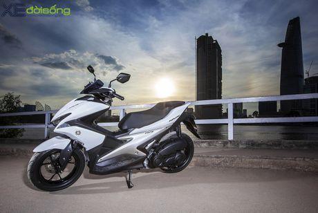 An tuong voi muc tieu hao nhien lieu cua Yamaha NVX 155 - Anh 1