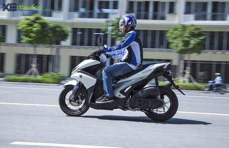 An tuong voi muc tieu hao nhien lieu cua Yamaha NVX 155 - Anh 2