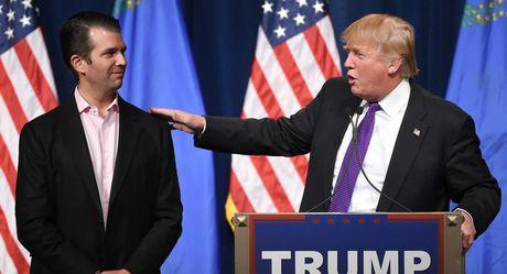 Con trai ca Donald Trump ban ve tuong lai Syria voi nhieu chinh tri gia - Anh 1